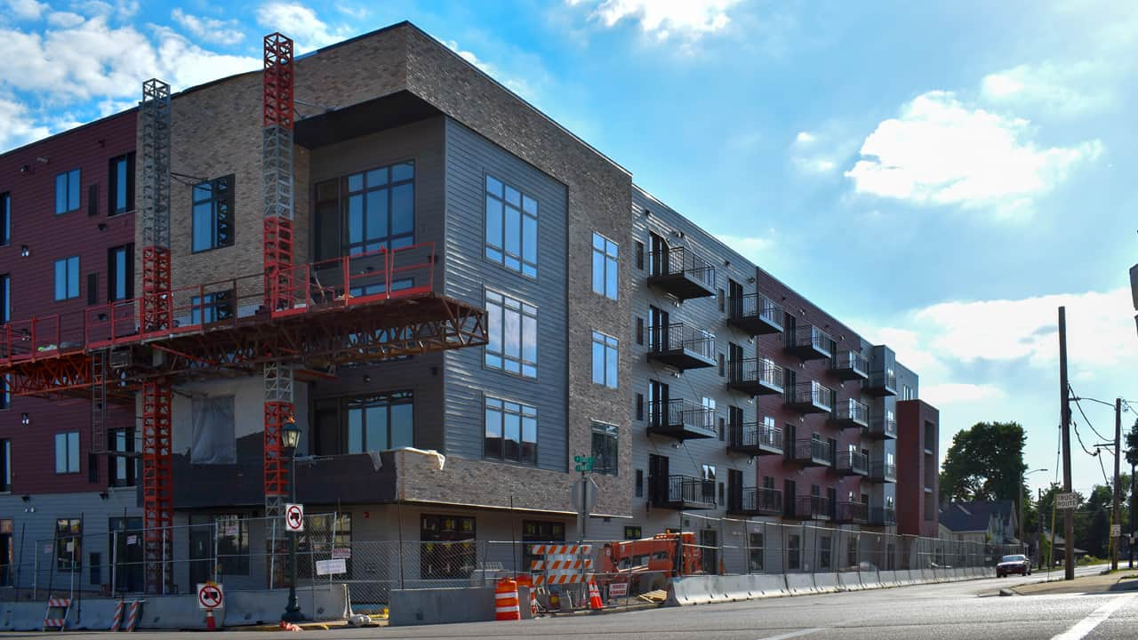 The Rincon 225 apartment project was supported by Washington County's Site Redevelopment Program.