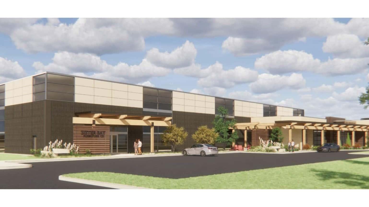 Rendering: Zimmerman Architectural Studios Inc.