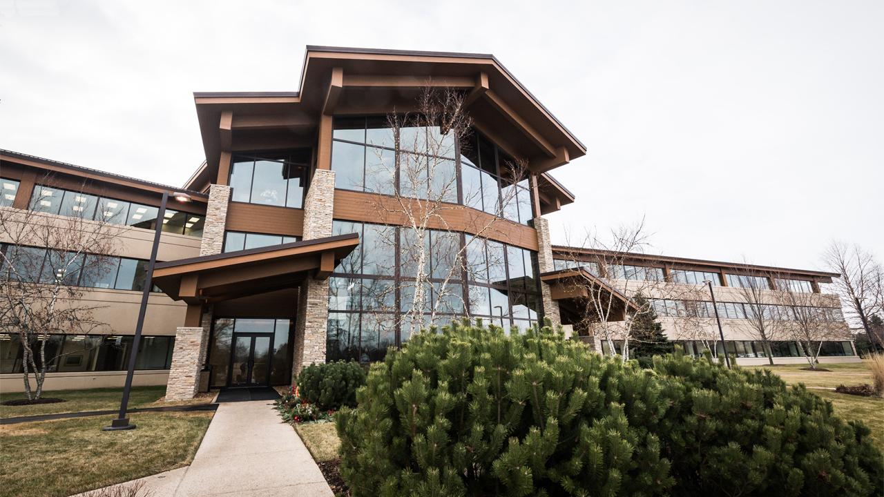 The Uline corporate headquarters in Pleasant Prairie.