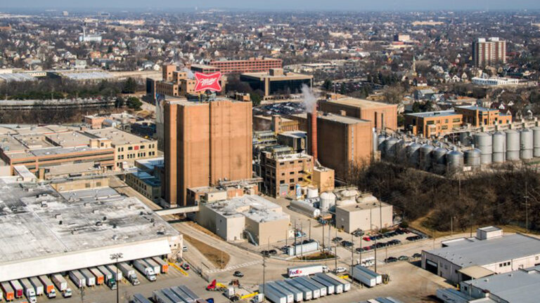 Molson Coors brewery in Milwaukee