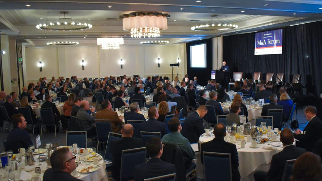 The last live BizTimes Media event was the M&A Forum on March 12, 2020. Photo by Arthur Thomas.