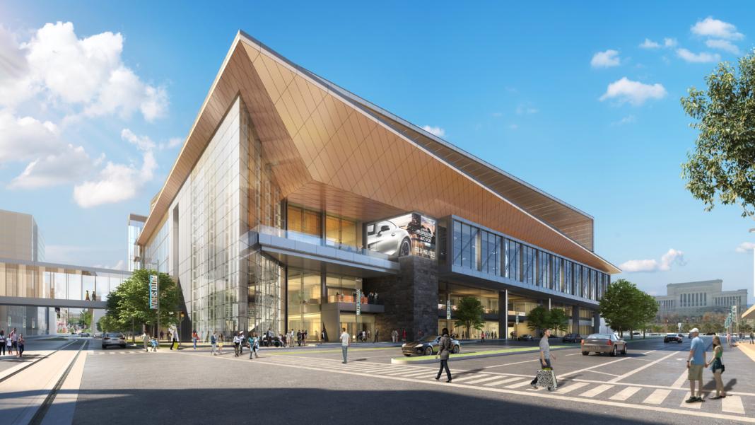 Wisconsin Center expansion rendering: tvsdesign and Eppstein Uhen Architects