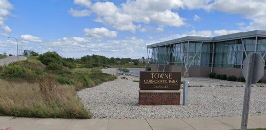 Towne Corporate Park of Granville. Credit: Google