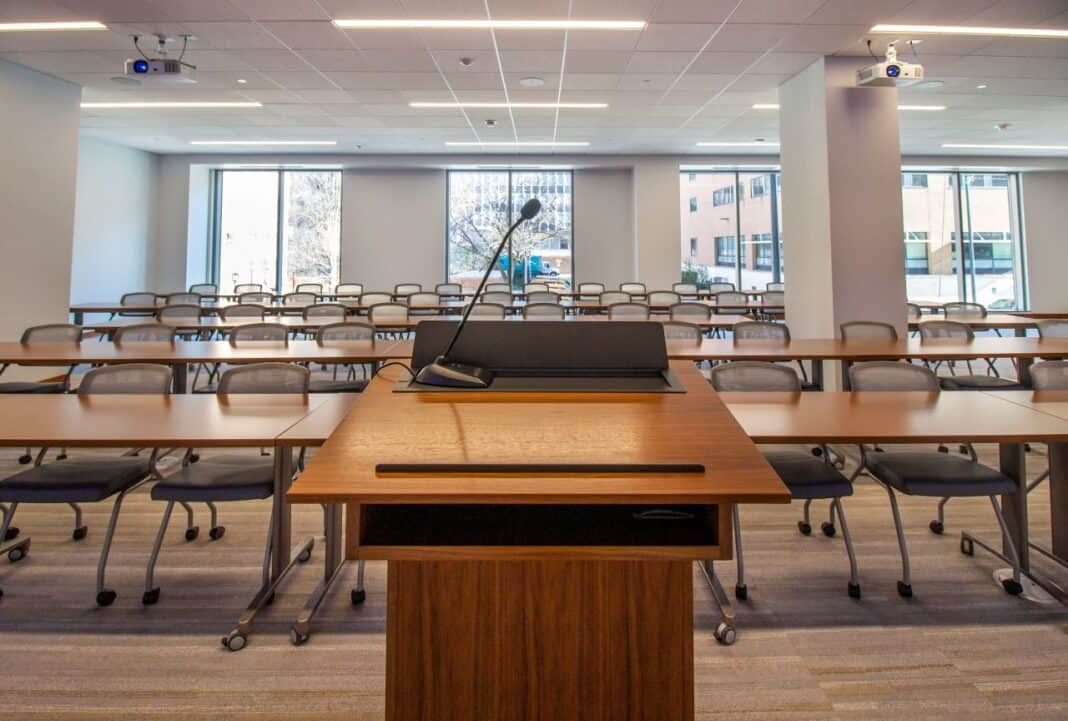 BMO Tower conference center. Photo courtesy of Amanda Marek/Irgens Partners