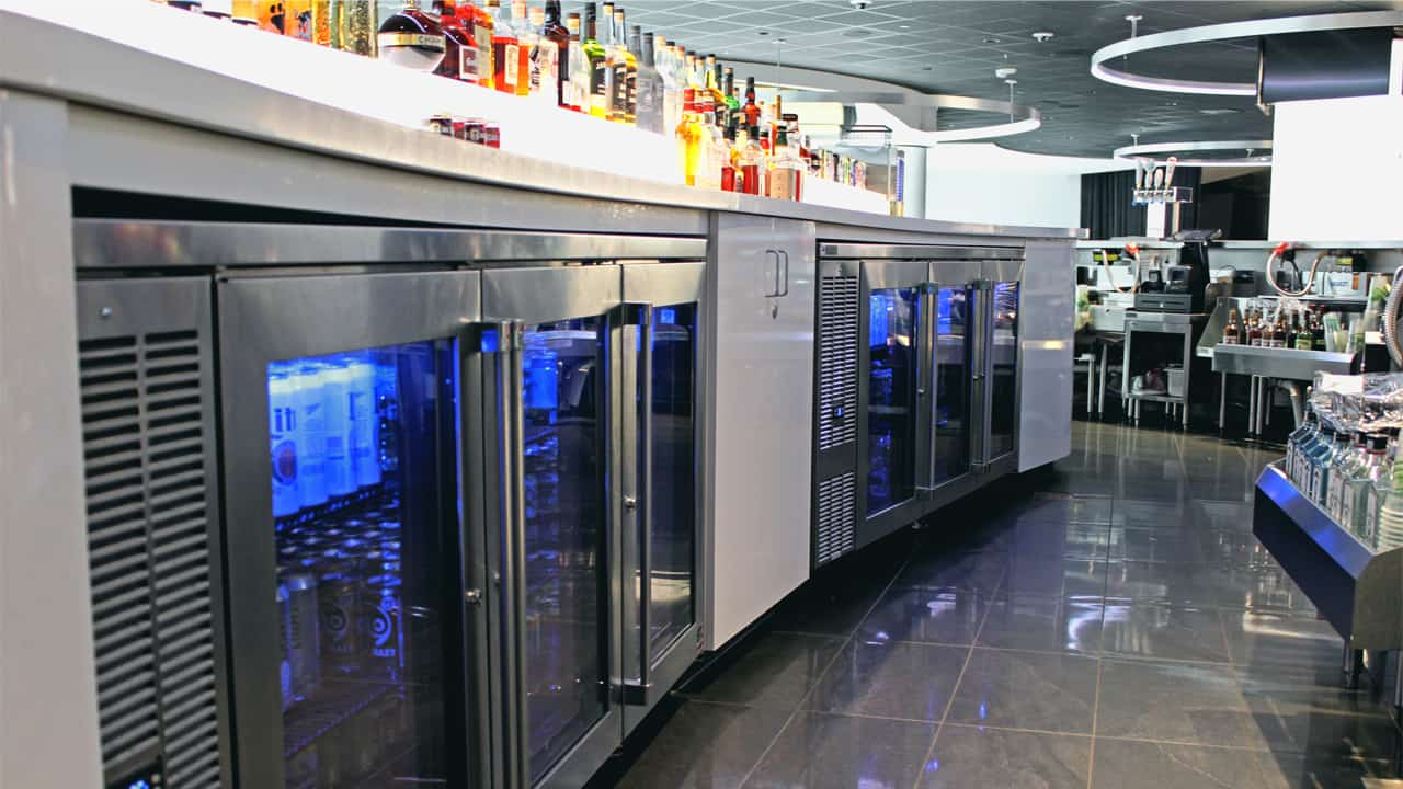 Perlick makes equipment used in bars, restaurants and large sports arenas, including Fiserv Forum in Milwaukee.