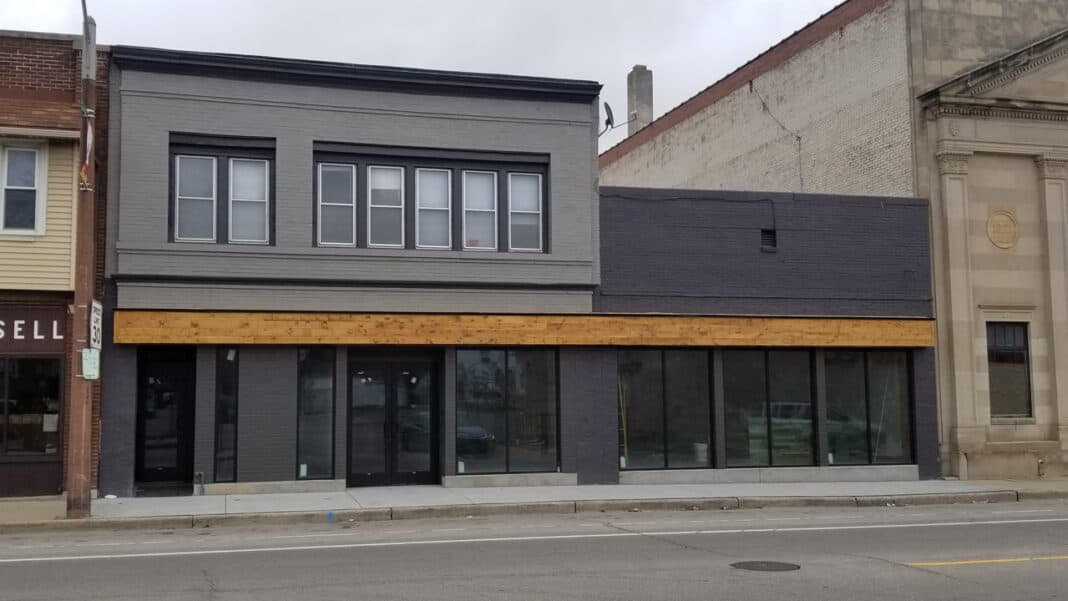 Ryan Pattee recently redeveloped a former nightclub at 3060 S 13th St. into a tea shop and manufacturing space for Urbal Tea.