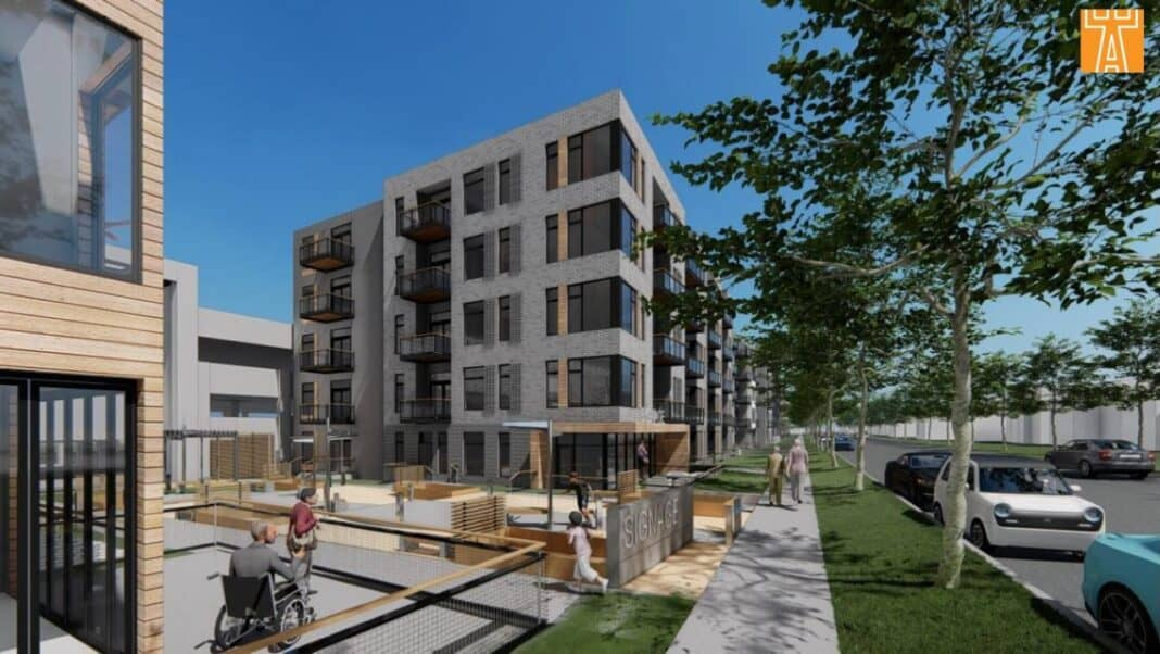 Rendering: Engberg Anderson Architects