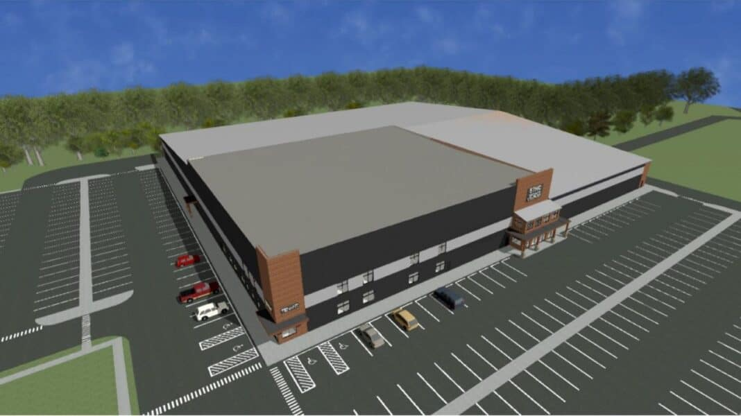 Ethic indoor sports complex in New Berlin. Rendering: Kahle Builders LLC