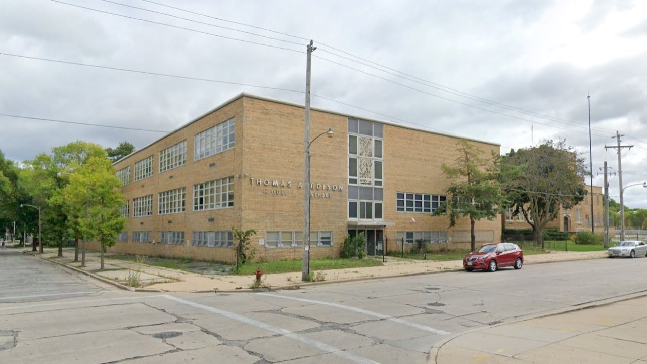 The former Edison Middle School. Credit: Google