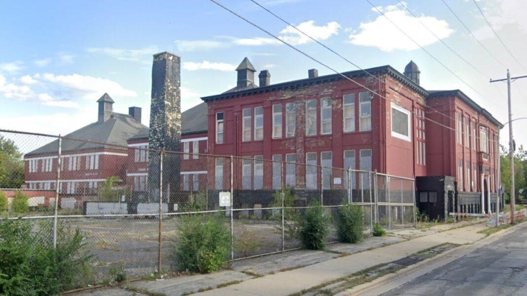 The former McKinley School. Credit: Google
