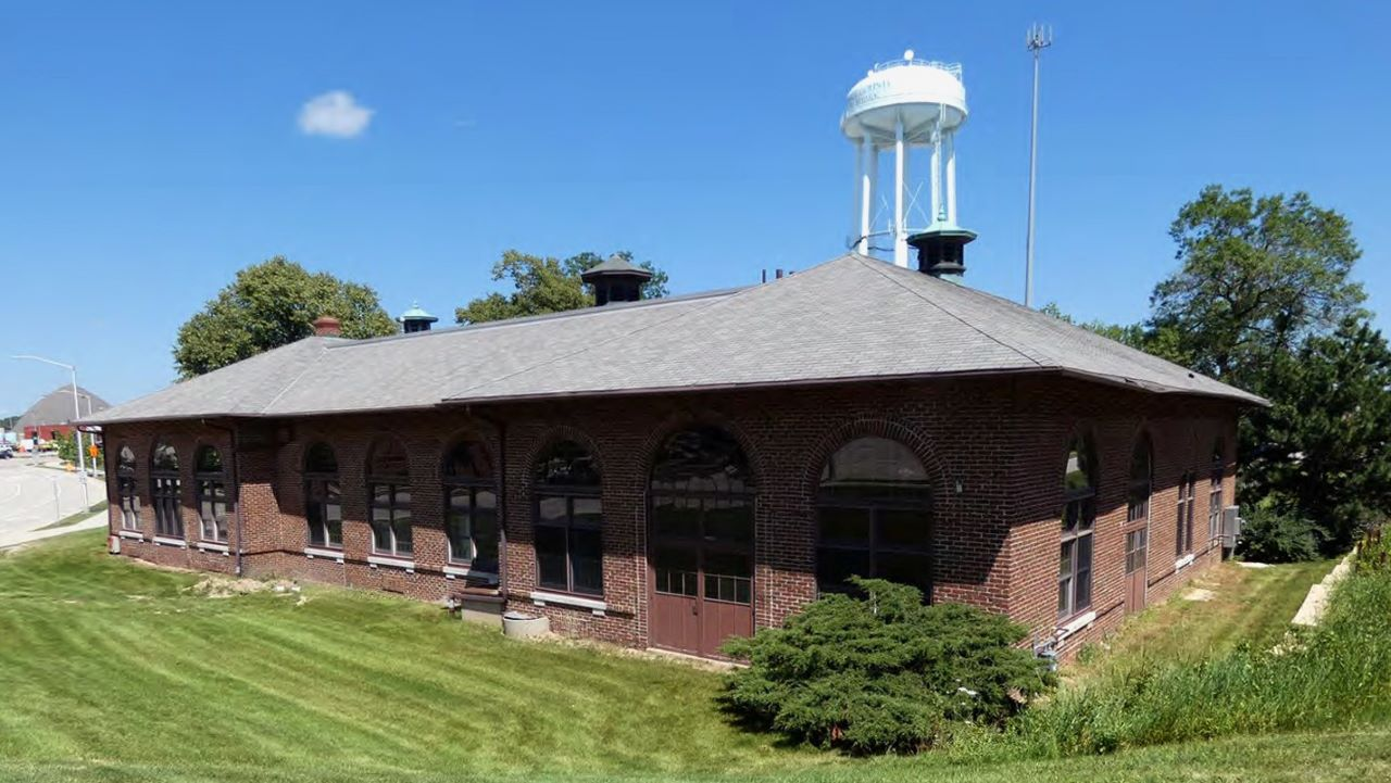 The existing power house building in Wauwatosa. Photo courtesy of Mandel Group.