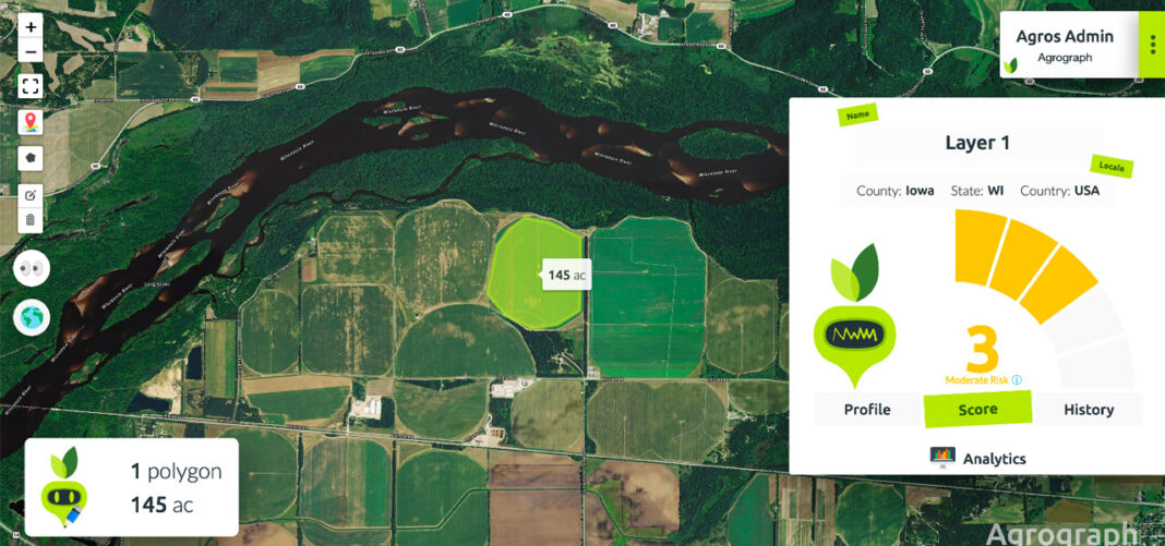 """One of Badger Fund of Funds' portfolio companies, Agrograph, provides """"the credit score of agricultural"""" on its platform to help crop insurers, lenders, grain distributors and suppliers make informed decisions."""
