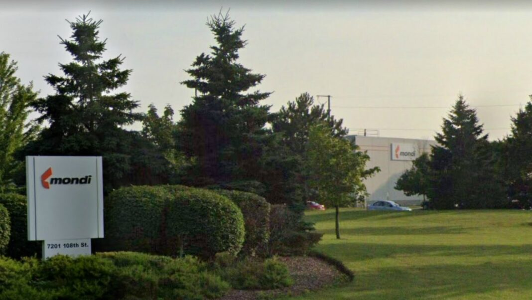 Mondi Akrosil facility in Pleasant Prairie. Image from Google.