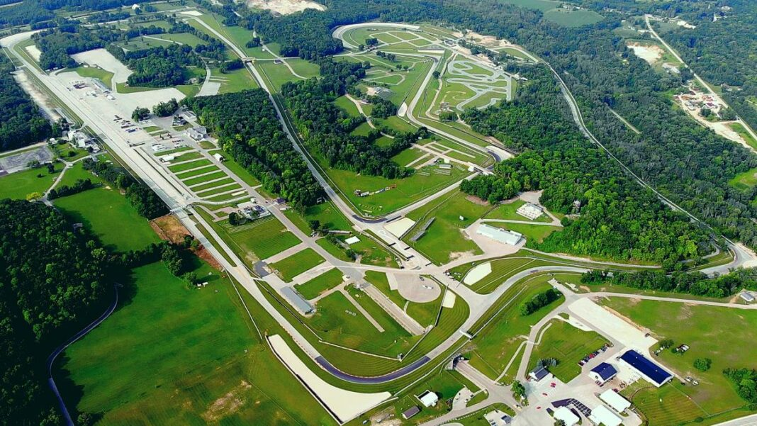 Aerial photo of Road America. Photo from Road America's website.