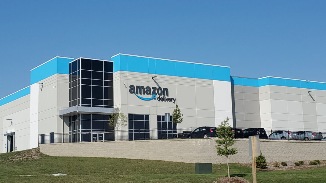 Amazon's fulfillment center in Kenosha.