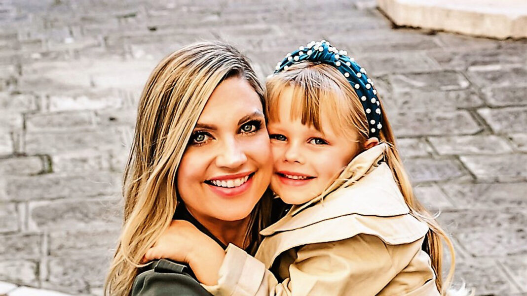 Holly Miller and her daughter, Londyn, who has inspired Holly's ambition as a female entrepreneur.