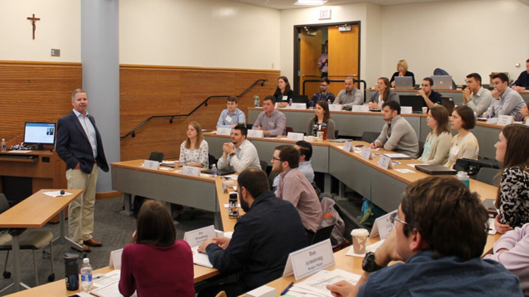 Nearly 100 area engineers have participated in Marquette's Bridge to Business program.