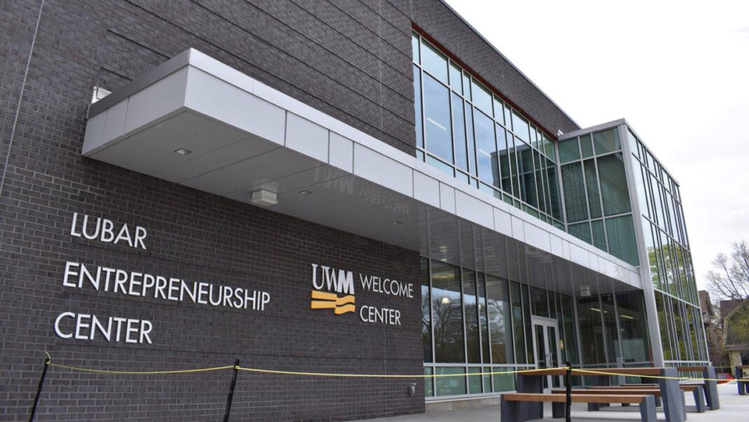 UWM's Lubar Entrepreneurship Center houses the school's entrepreneurial programs and initiatives.