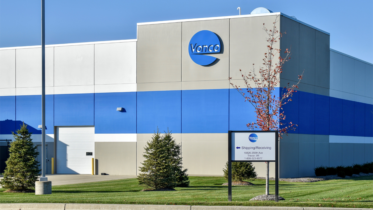 Vonco Products has grown to around 120 employees since moving to Wisconsin.