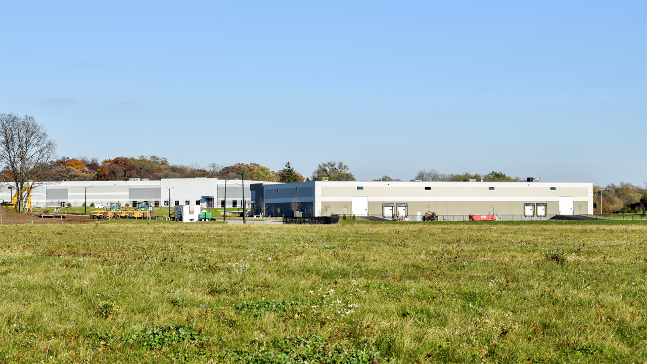Zilber Property Group is currently finishing work on two buildings in the Salem Business Park.