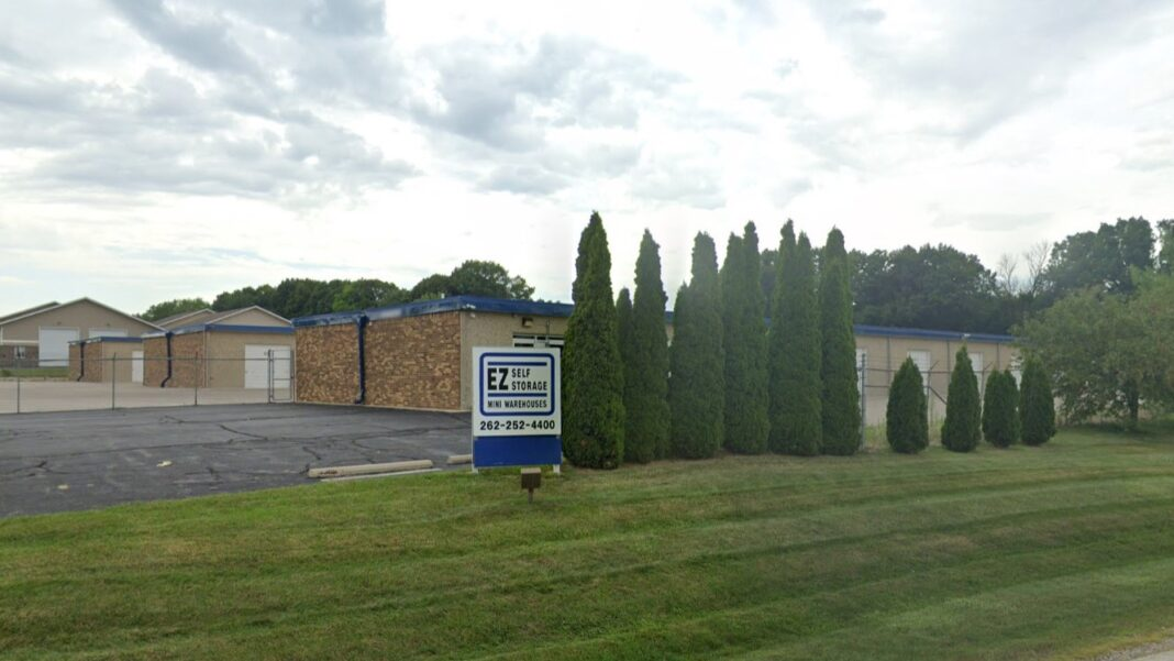 The EZ Self Storage facility in Menomonee Falls was one of eight that were recently acquired and rebranded as Storage Rentals of America. Credit: Google