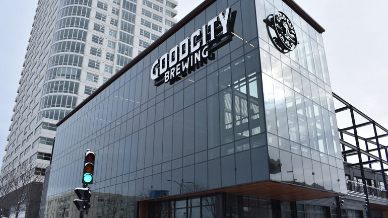 Good City Brewing's downtown Milwaukee location.