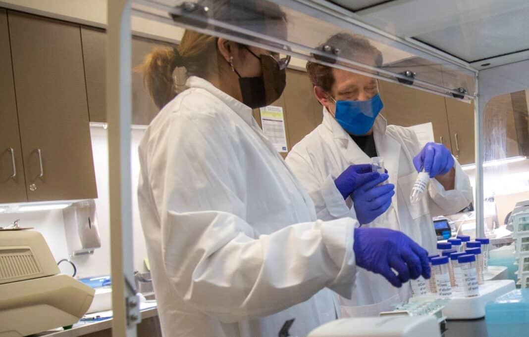 Shalem Healing's laboratory area. Photo courtesy of Bader Philanthropies