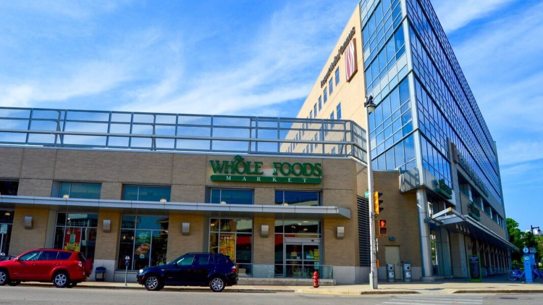 Whole Foods store on Milwaukee's East Side. Photo courtesy of Colliers International | Wisconsin