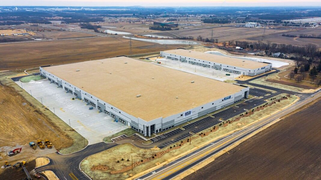 Bristol Highlands phase one. Photo courtesy of HSA Commercial Real Estate