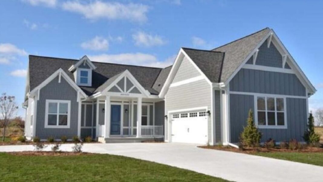 Example of a home built by Sussex-based Cornerstone Development.