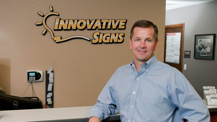 Chad Schultz, President of Innovative Signs