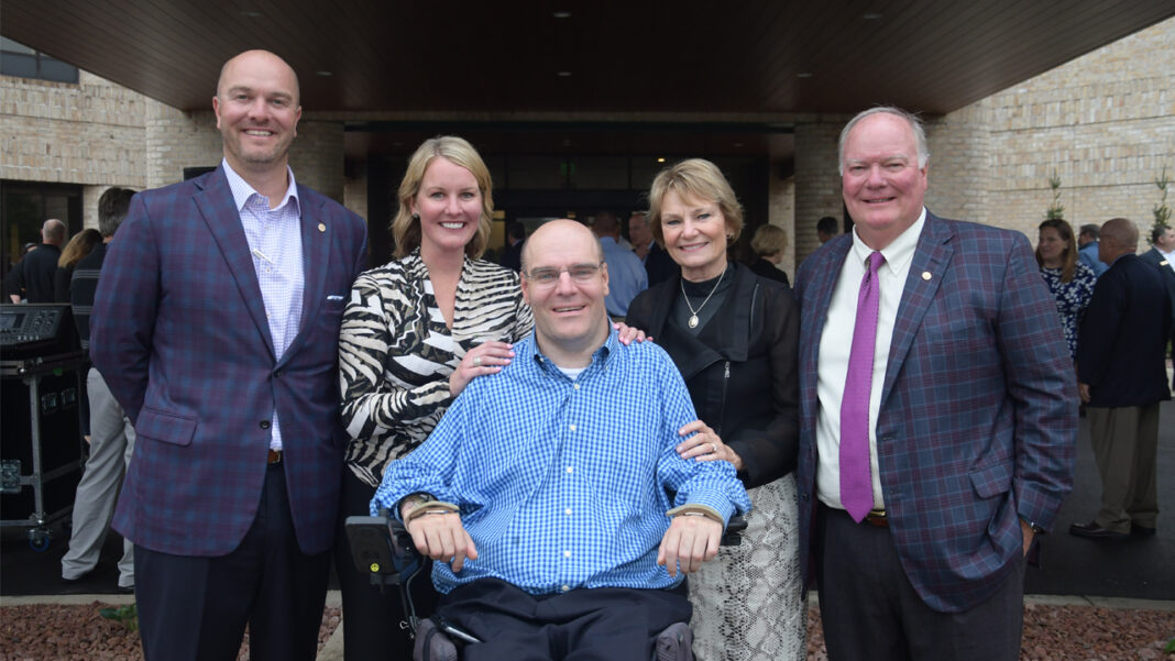The Riesch family, owners of R&R Insurance Services, Inc.