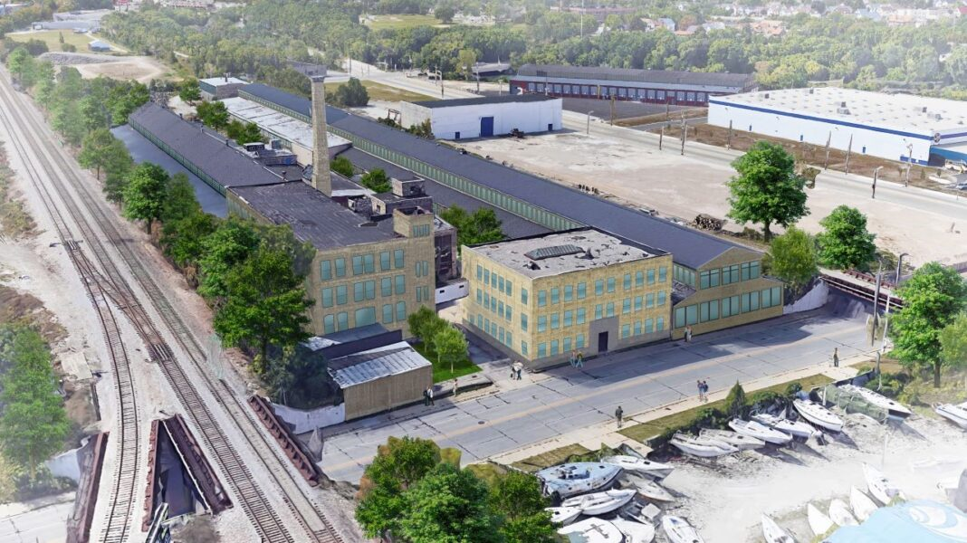 Proposed Filer & Stowell redevelopment in Bay View. Rendering courtesy of Bear Development