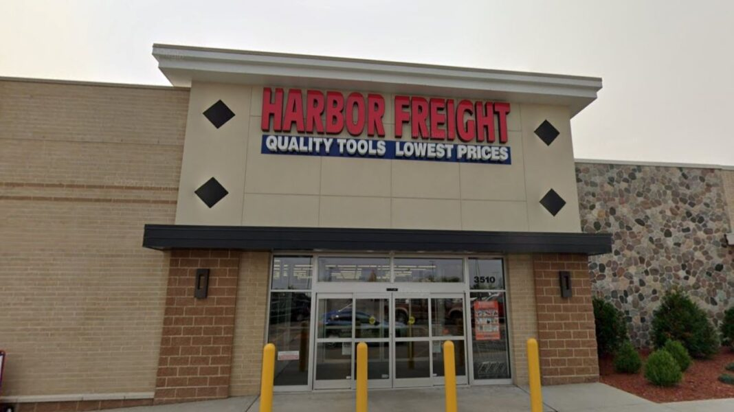 Harbor Freight store in Sheboygan. Credit: Google