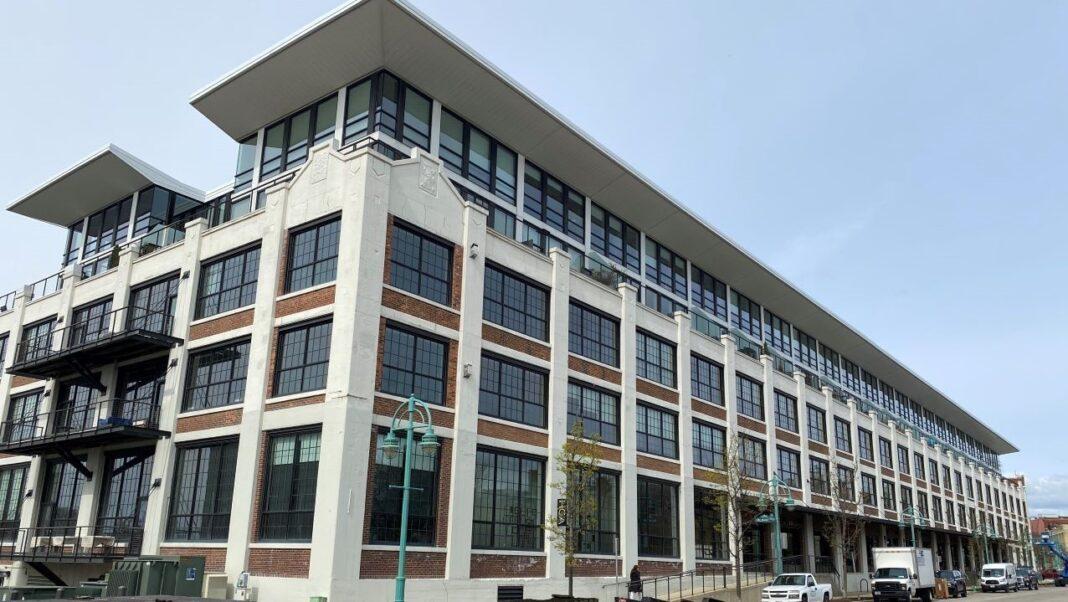Marine Terminal Lofts building, Milwaukee's Historic Third Ward.