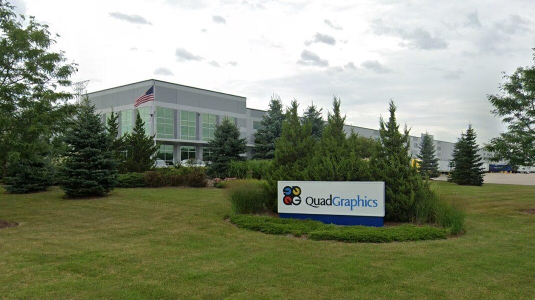 Former Quad distribution facility on Shawn Circle. Credit: Google