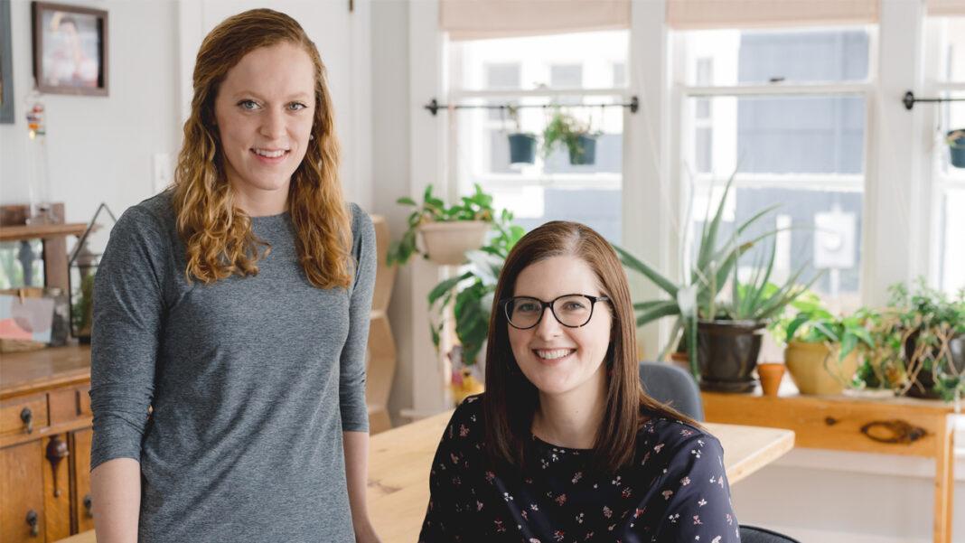 Wumblekin co-founders Erin Stumbras and Andrea DuMez.