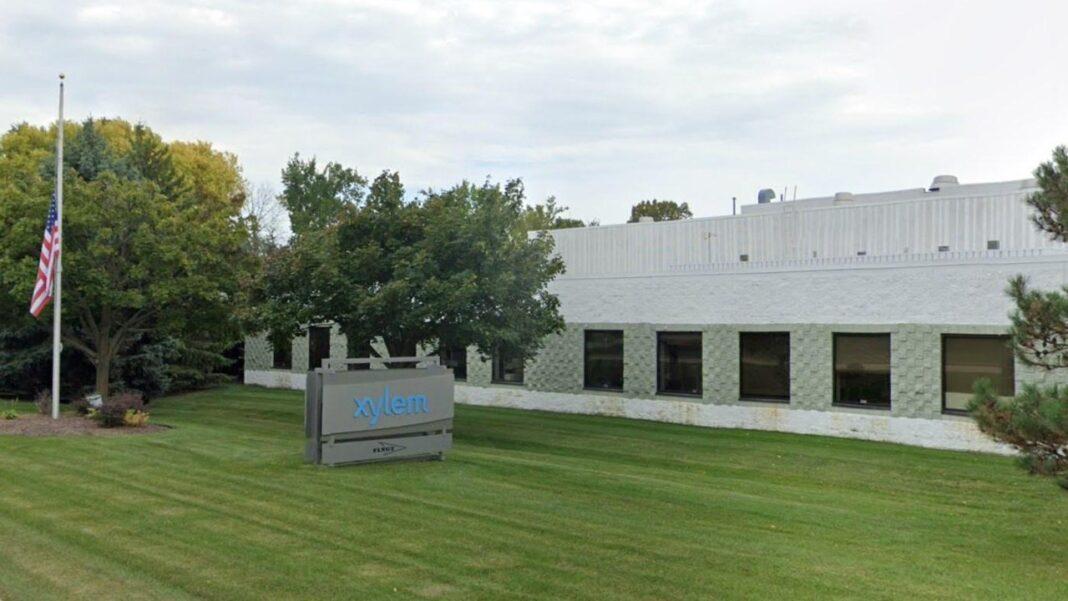 Xylem's Pewaukee facility. Image from Google.