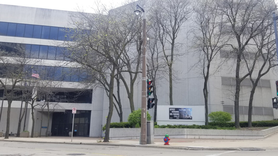Milwaukee Tool will take over the former Assurant building at 501 W. Michigan St. for its planned downtown Milwaukee expansion.