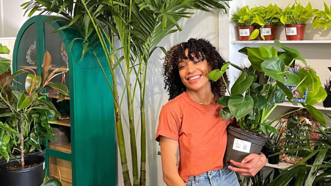 Maranta Plant Shop co-founder Michelle Alfaro.