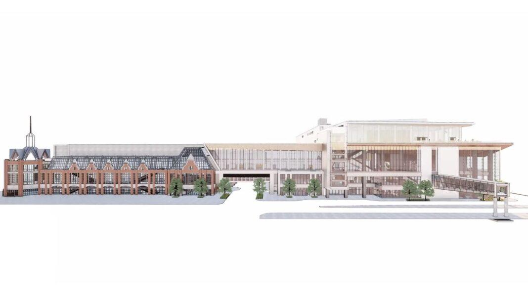 Rendering: tvsdesign and Eppstein Uhen Architects
