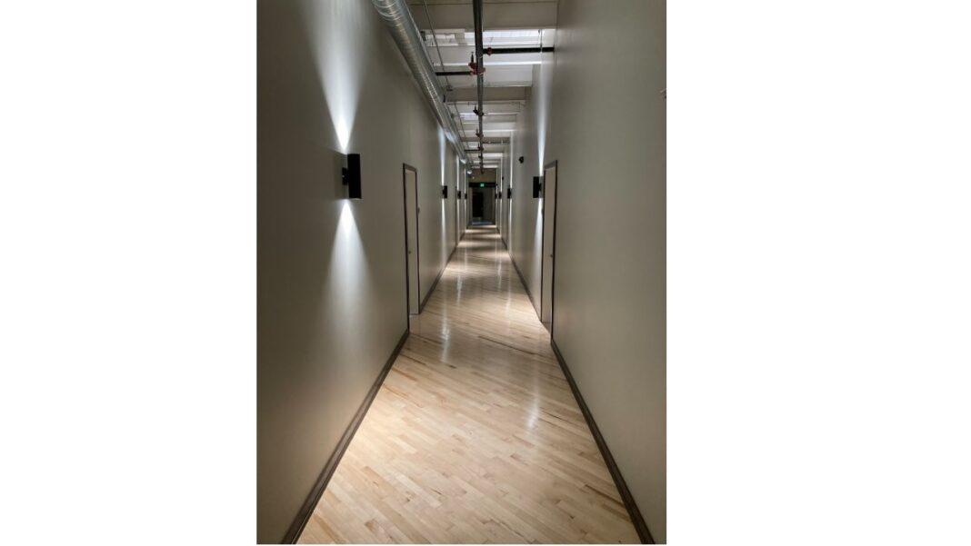 Hallway in Arabella. Courtesy of J. Jeffers & Co.