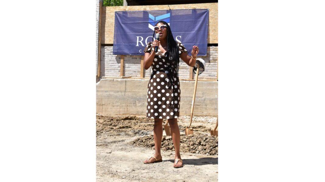 Milwaukee County Board of Supervisors Chairwoman Marcelia Nicholson