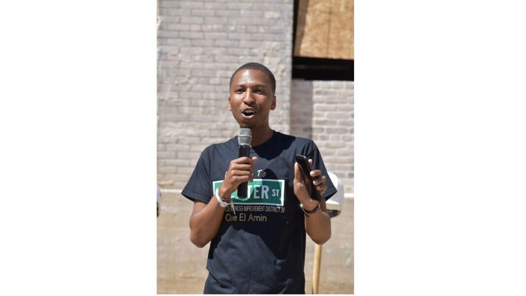 Que El-Amin, principal of project co-developer Scott Crawford Inc.