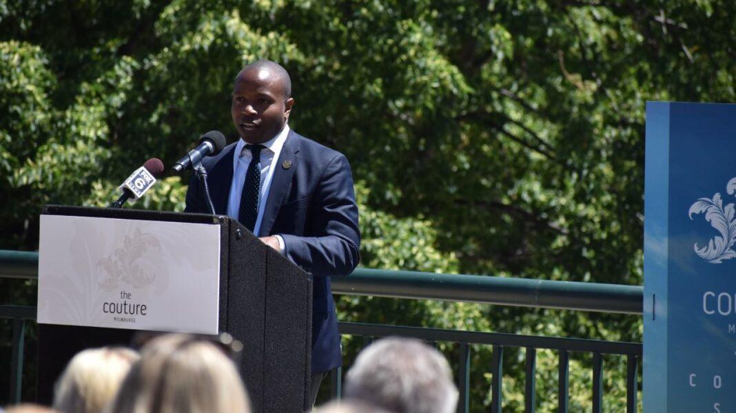 Milwaukee Common Council president Cavalier Johnson