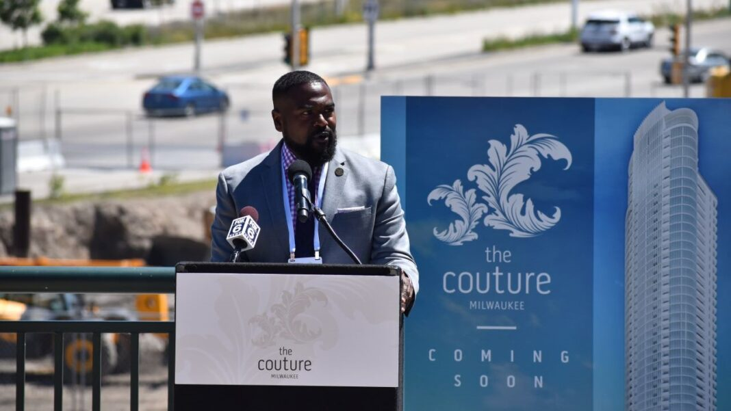 Lafayette Crump took over as Milwaukee Department of City Development commissioner last July, and helped The Couture cross the financing finish line with a number of last-second development agreement modifications.