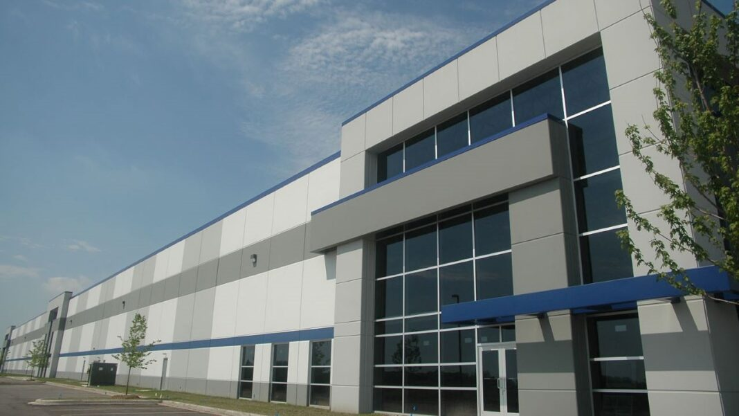 Park 94 industrial building. Photo courtesy of HSA Commercial