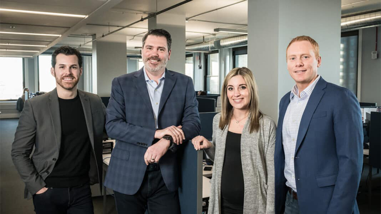 Milwaukee-based Healthfuse's leadership team includes Nick Fricano, Jon Myhre, Kelly Welch and Nick Corrao.