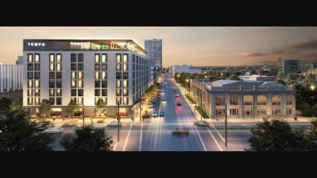 The proposed Tempo by Hilton hotel in downtown Milwaukee.