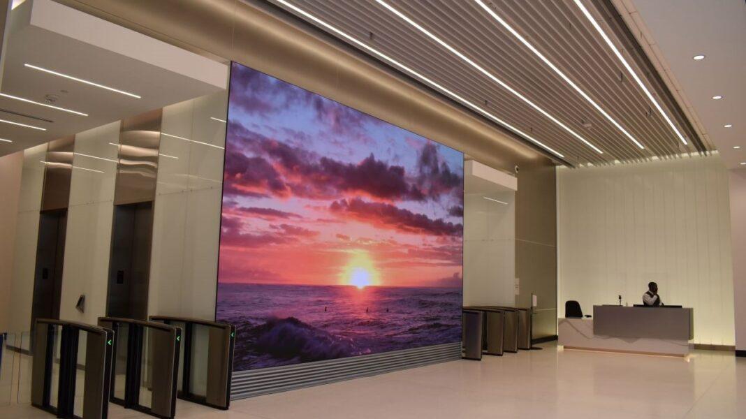 Associated Bank River Center lobby.